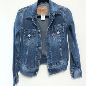 LEVIS DENIM JACKET, SMALL